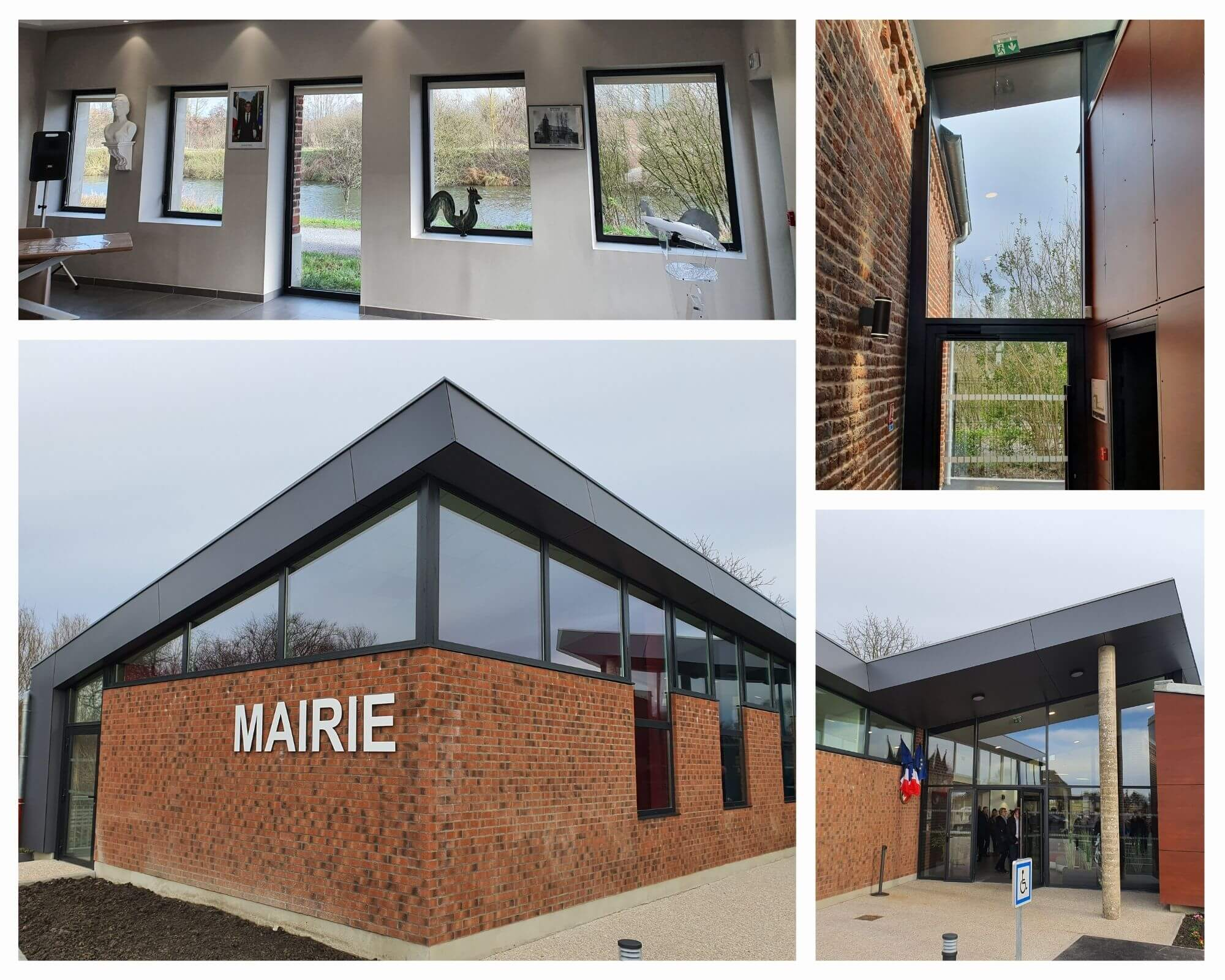 Legrand Menuiserie Aluminium - Projet Maire de Lecelles