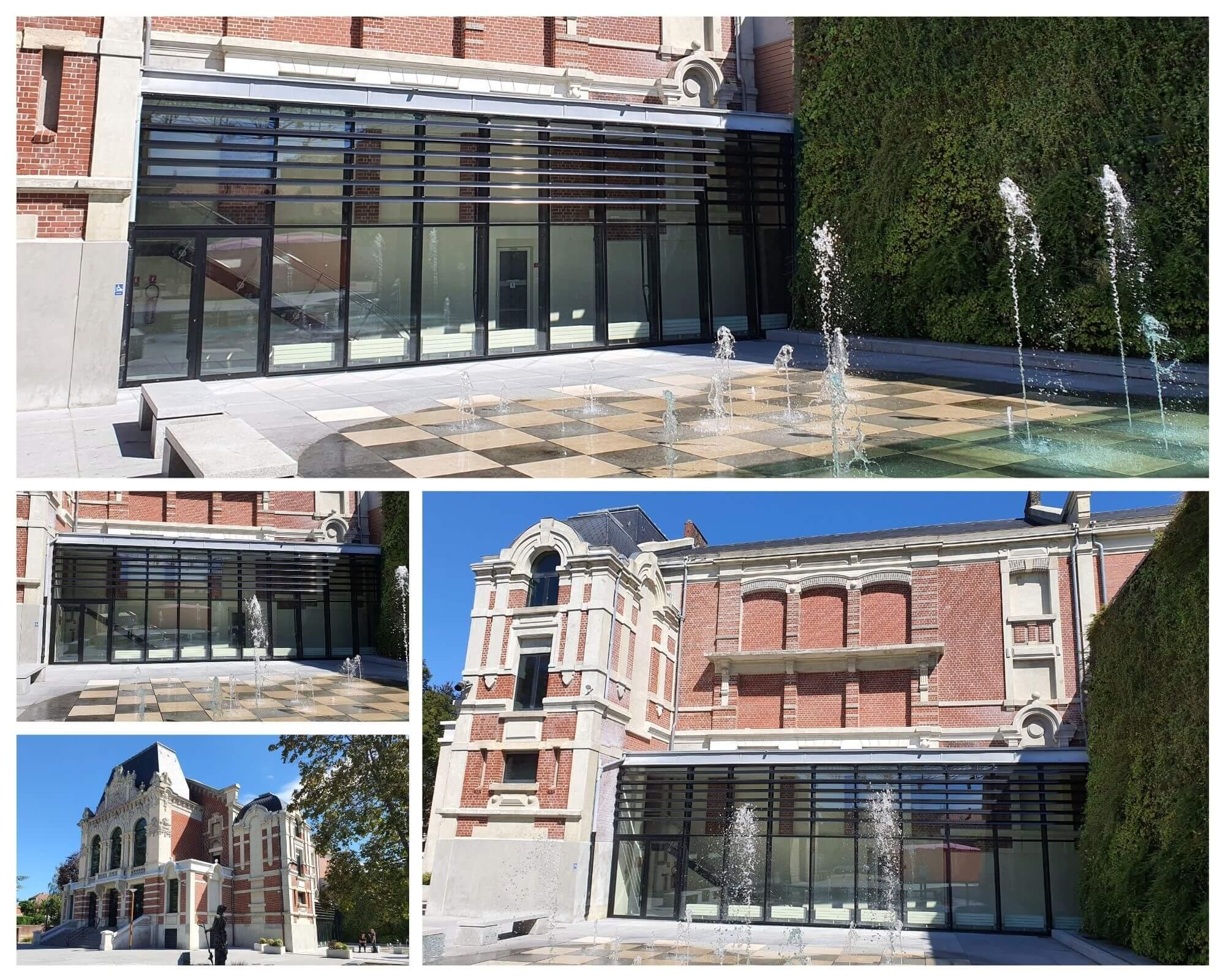 Legrand Menuiserie aluminium - Projet théâtre de Saint-Amand-les-Eaux